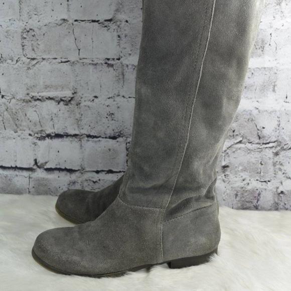 171d282a076 Nine West Vintage America Gray Suede Boots